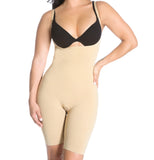 Smok69 Smok69 Mid-Thigh Full Strappy Body Shaper Available in Black and Nude  - 9