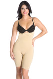 Smok69 Smok69 Mid-Thigh Full Strappy Body Shaper Available in Black and Nude  - 10