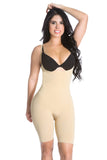 Smok69 Smok69 Mid-Thigh Full Strappy Body Shaper Available in Black and Nude  - 11