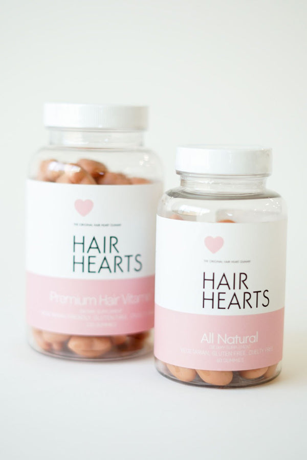 HAIR HEARTS 3/MOIS