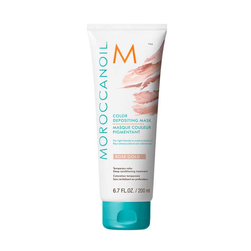 Moroccanoil Color deposit mask rose gold
