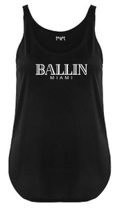 Ballin Miami Women Festival Tank Top