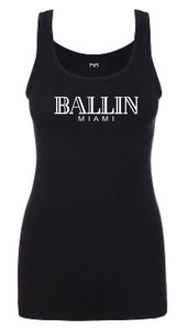 Ballin Miami Women Tank Top