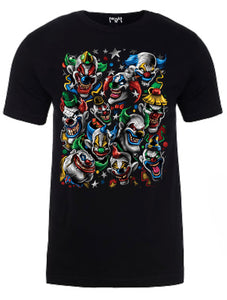 Clown Rave Men Tee Black