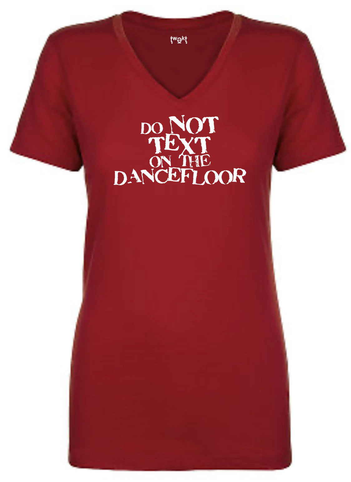 Do Not Text Women V-neck