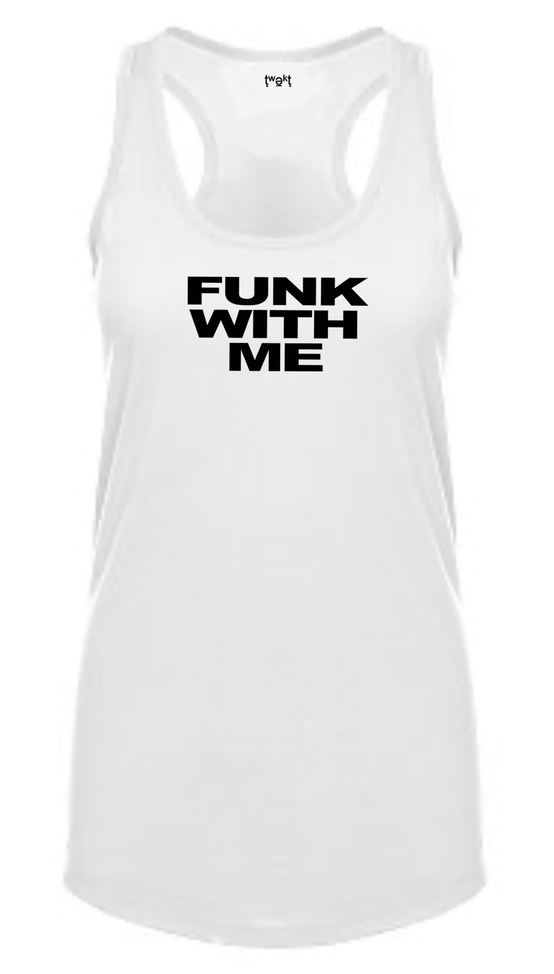 Funk With Me Women Racerback
