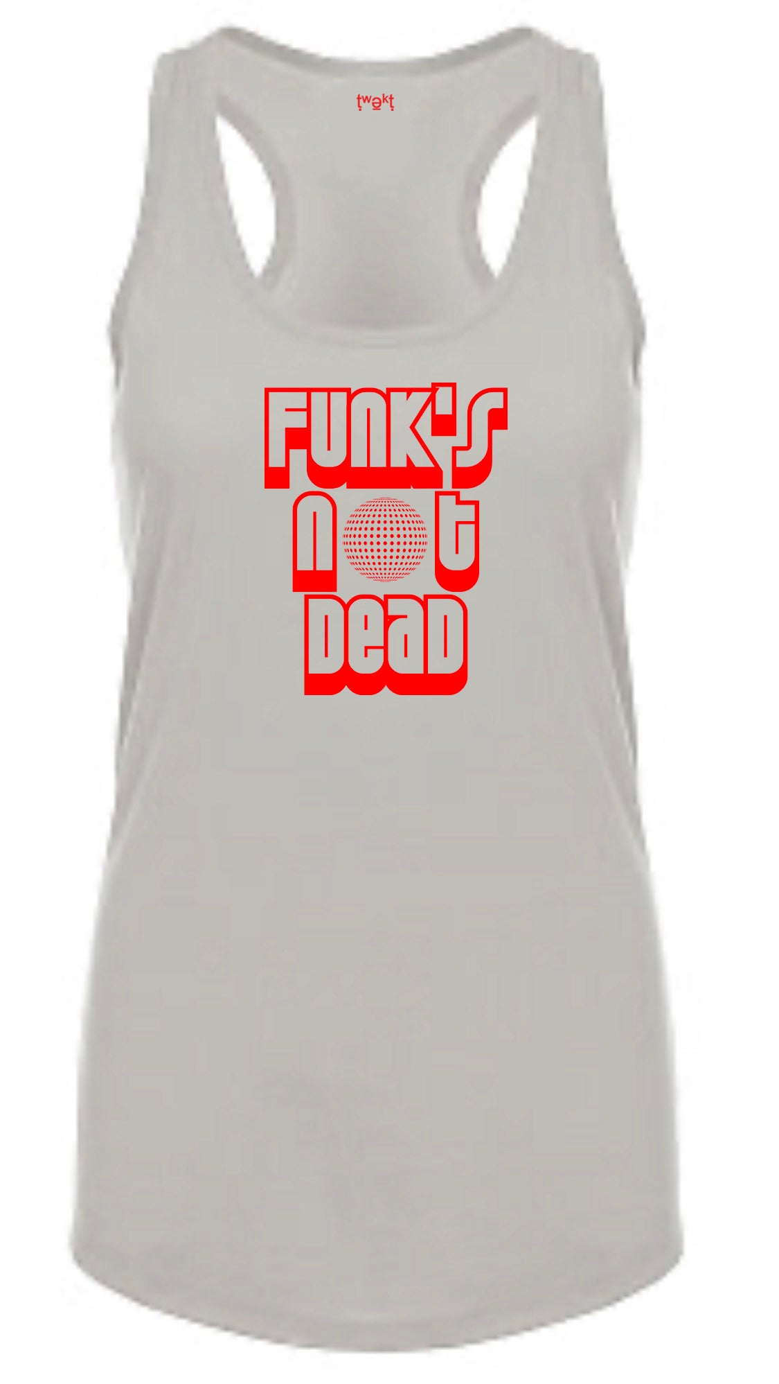Funk's Not Women Racerback