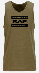 Gangsta Men Tank Top