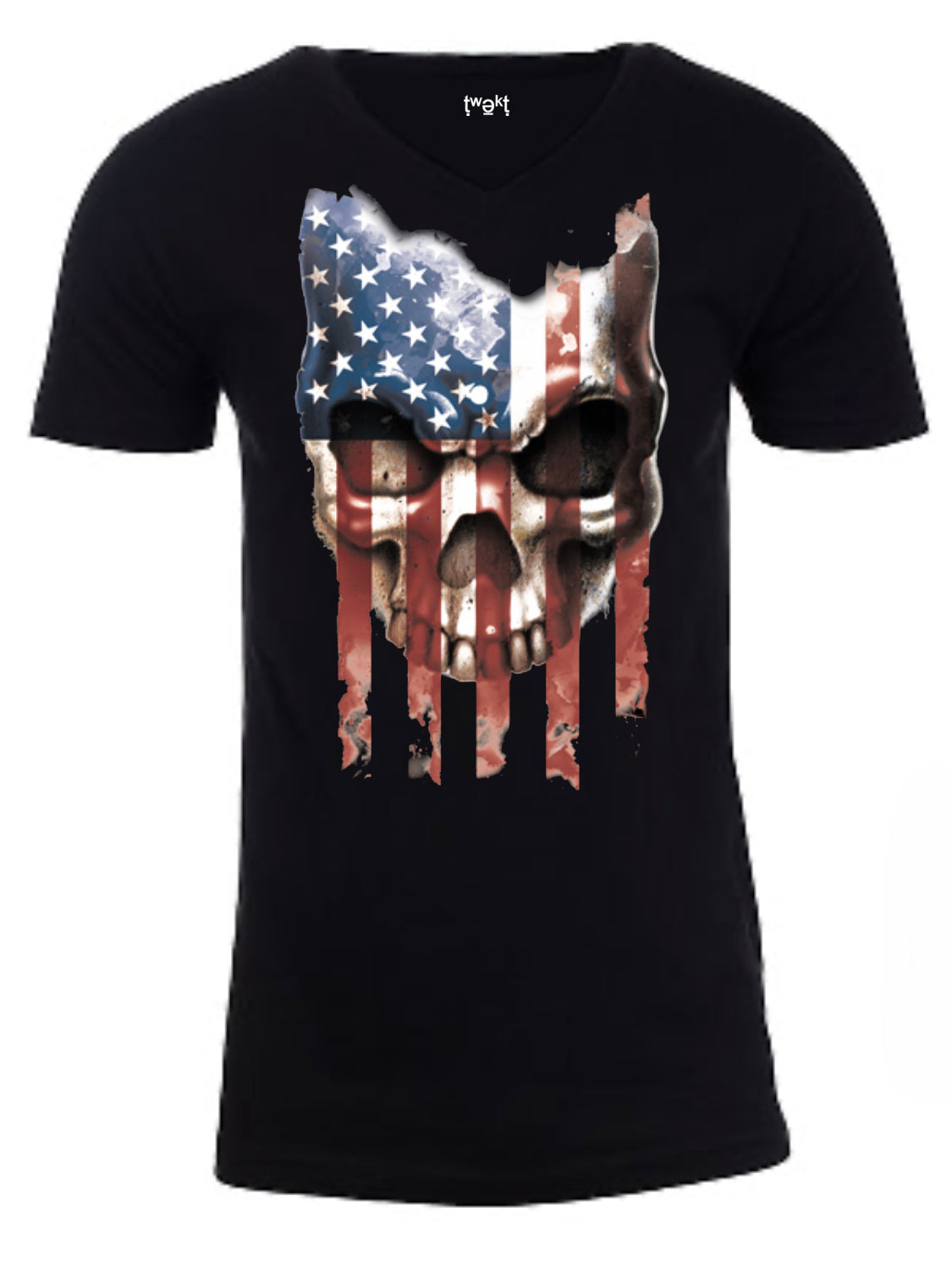 Patriot Skull Men T-shirt
