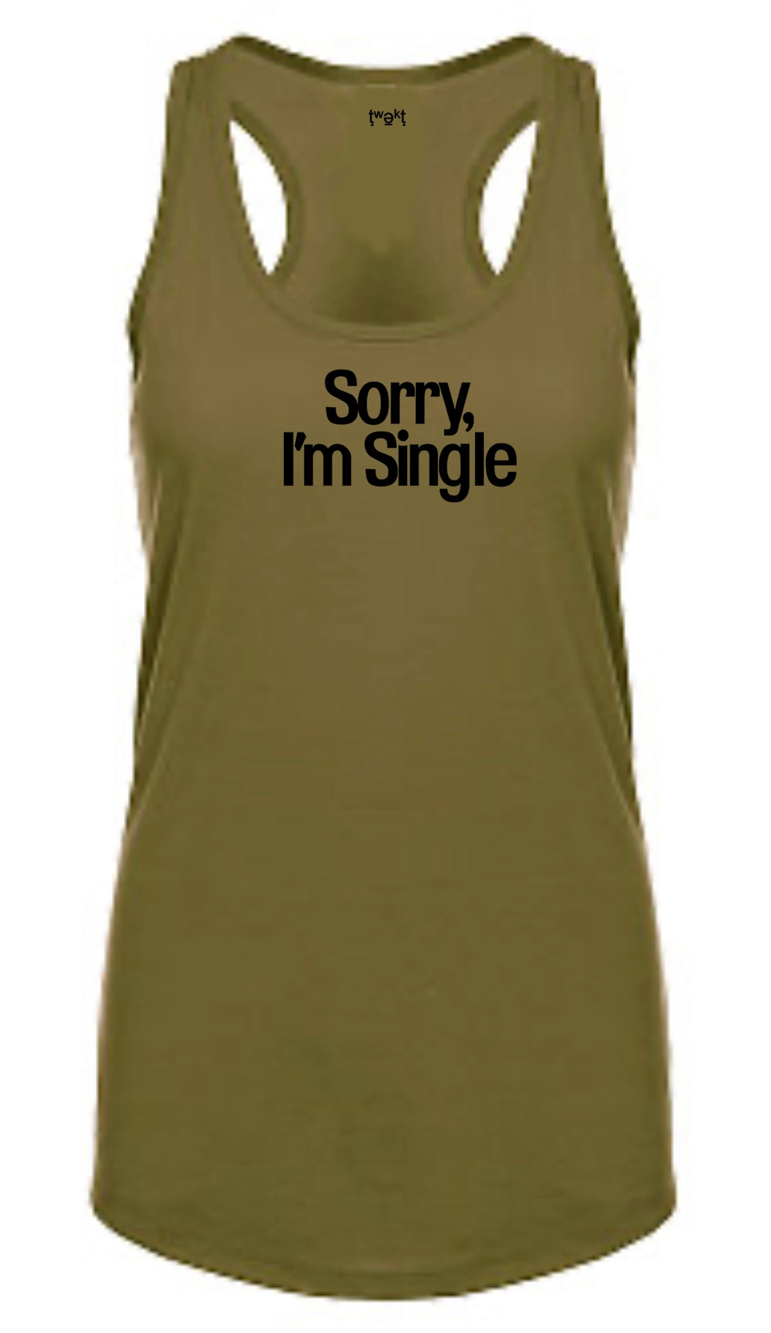 Sorry Single Women Racerback