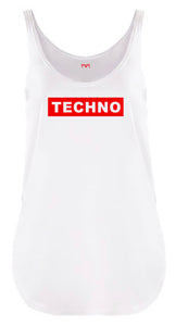 Techno Badge Women Festival Tank