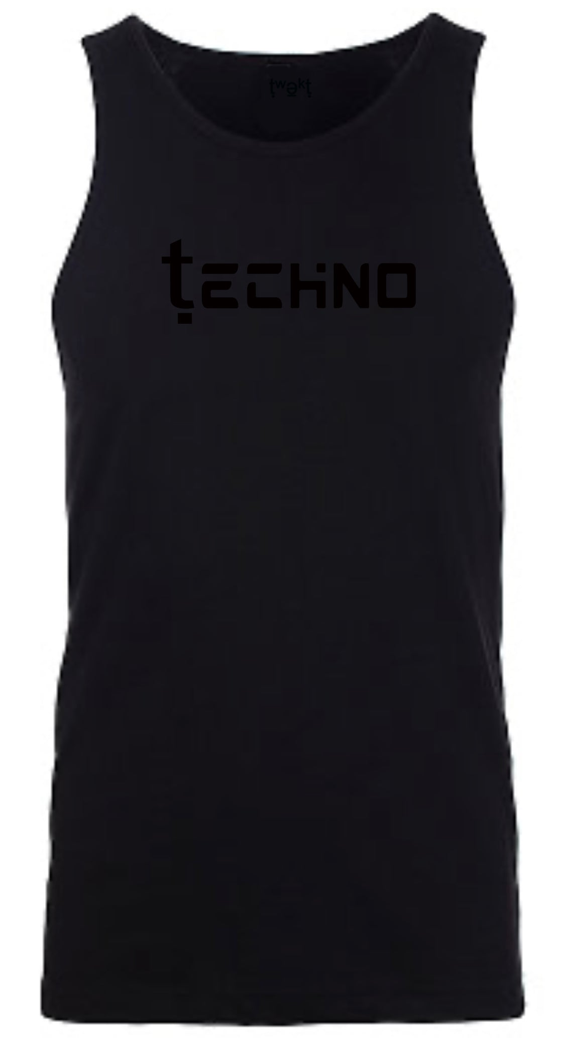 Techno Men Tank Top