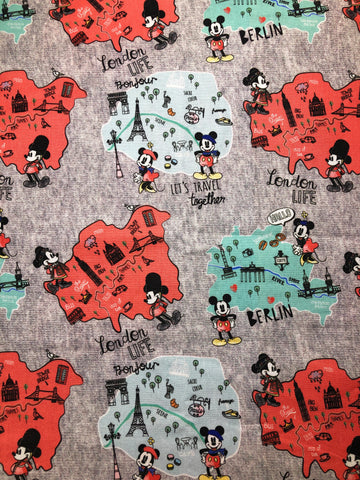2050 Mickey and Minnie (Travel Together/Limited Quantity)