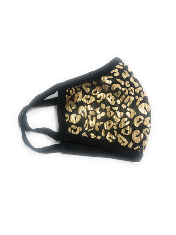 Gold & Black Animal Print (Summer Collection)