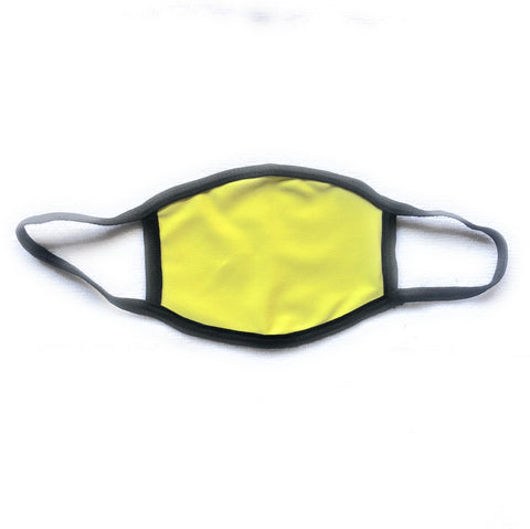 Yellow School Uniform Face Masks (Pack of 3 or 6)