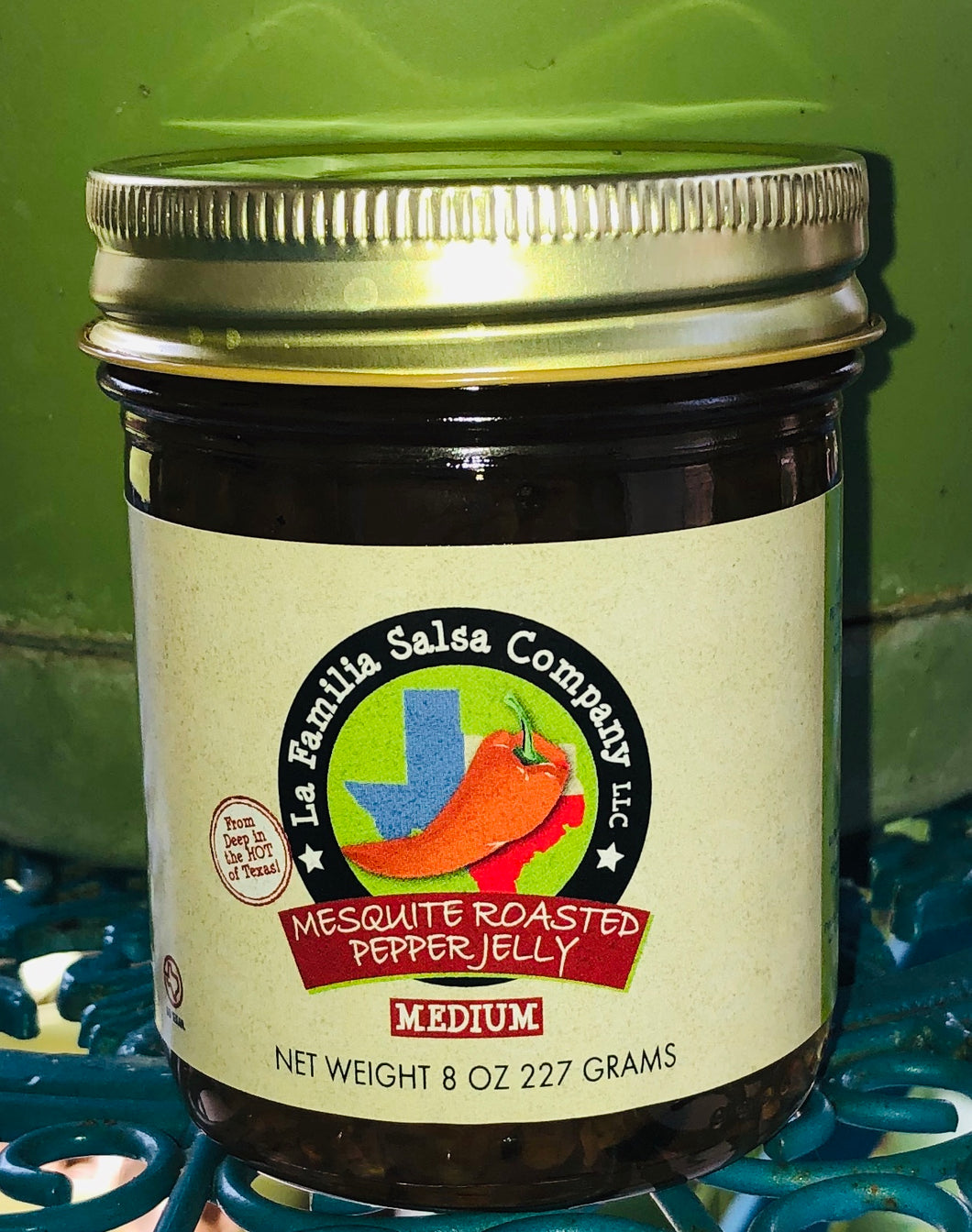 Mesquite Smoked Pepper Jelly
