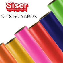 "Load image into Gallery viewer, Siser EasyWeed Heat Transfer Vinyl - 12"" x 50 yards"