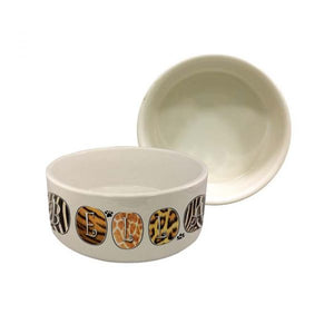 "Ceramic Sublimation Pet Bowl - Small - 6"" Wide"