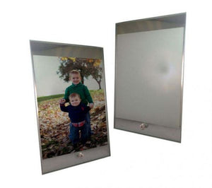 "Mirrored Sublimation Photo Display Easel - 6"" x 9"""