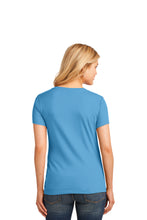Load image into Gallery viewer, Port & Company® Ladies Core Cotton V-Neck Tee LPC54V (L, XL, XXL)
