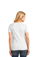 Load image into Gallery viewer, Port & Company® Ladies Core Cotton V-Neck Tee LPC54V (3XL, 4XL)