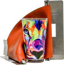 "Load image into Gallery viewer, HIX 6"" Tapered Sublimation Oven 17 oz. Latte Cup Wrap"