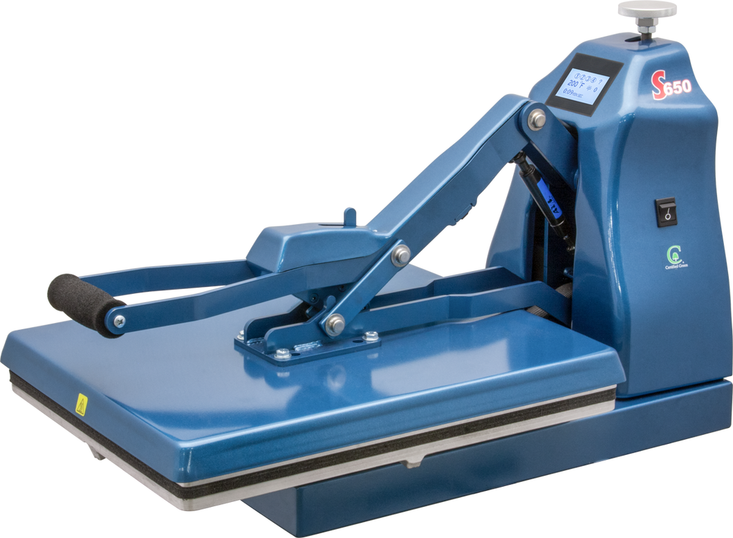 S-650 Clamshell Press With Stand - Auto Open - 16