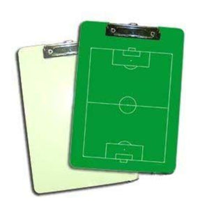"Sublimation Two Sided Dry Erase Clipboard with Flat Clip - 9"" x 12.5"""