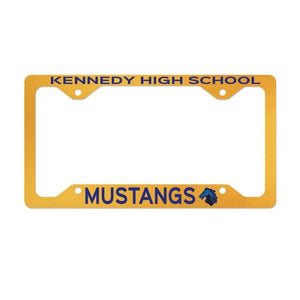 Aluminum Sublimation License Plate Frames