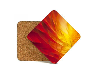 "Cork-Back MDF Sublimation Drink Coasters - 3.75"" Square"