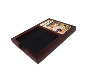 Mahogany Sublimation Sticky Note Holder with Insert