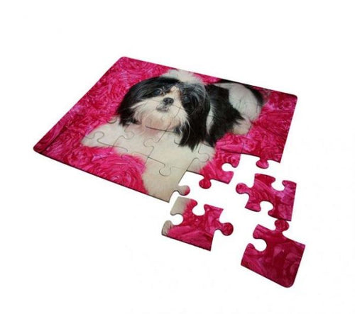 30 Piece Jigsaw Puzzle for Sublimation Printing (5/pack)