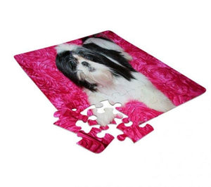 48 Piece Jigsaw Puzzle for Sublimation Printing (5/pack)
