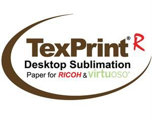 TexPrint-R Sublimation Transfer Paper for Ricoh & Virtuoso Sublimation Printing - 110 sheets