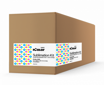 IColor 650 Sublimation CMYK toner and drum cartridge kit (5,000 pages)