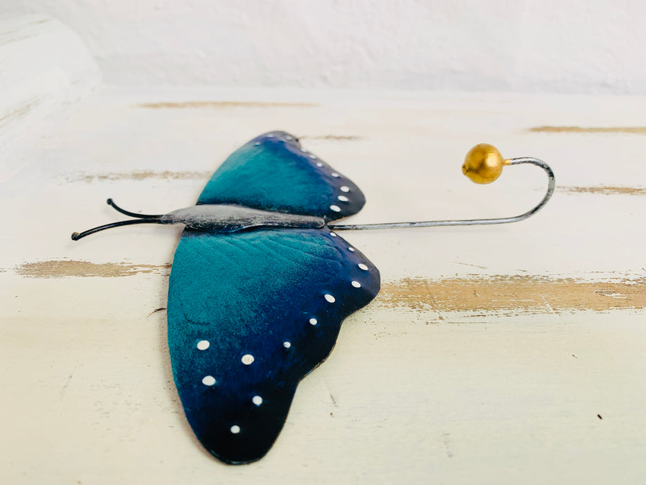 Blue Butterfly Hook