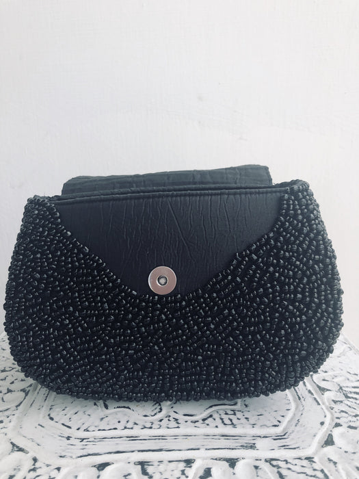 Tassel Clutch - Black