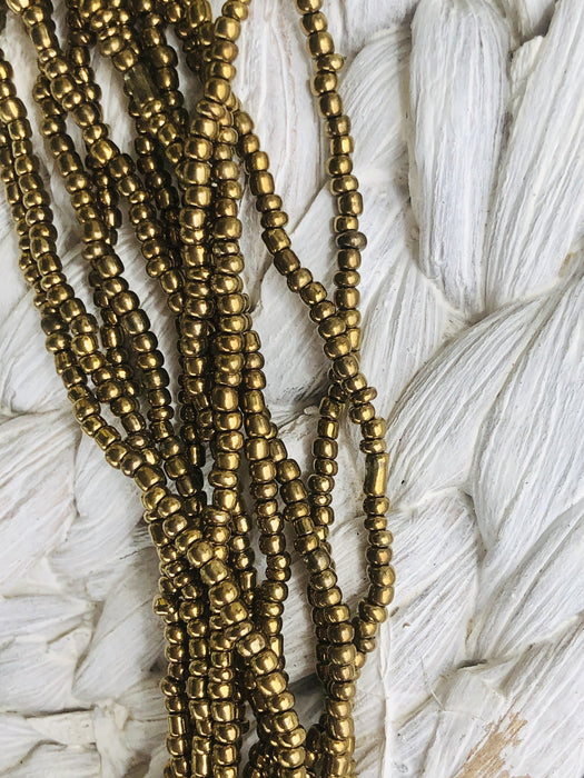 Florence Necklace - Gold Metallic