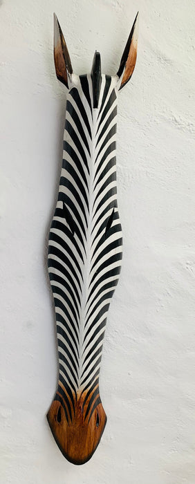Wood Mask - Zebra Large