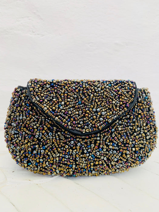 Petra Clutch - Paua Metallic