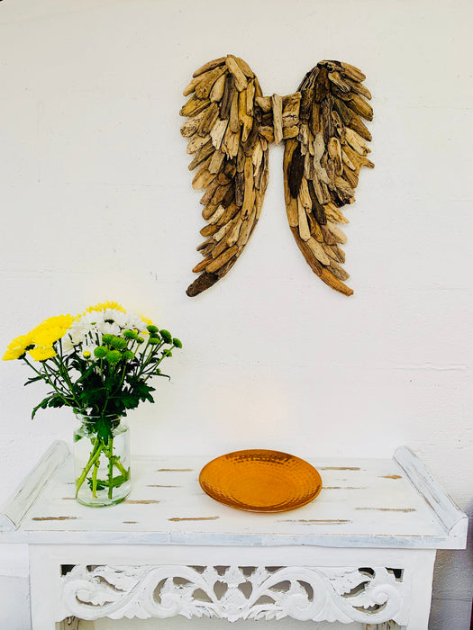 Driftwood Angel Wings - Small