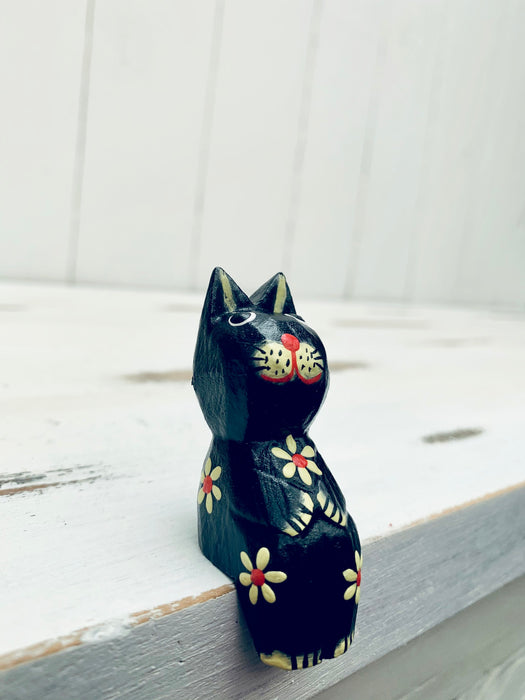 Pair of Tiny Flower Kitties