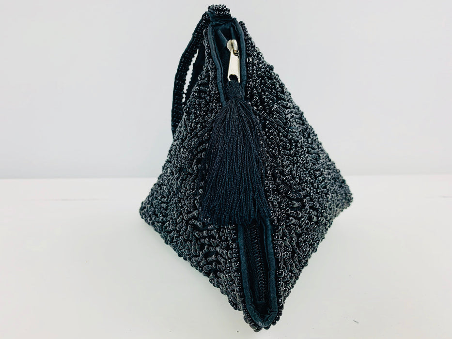 Pyramid Handbag - Black
