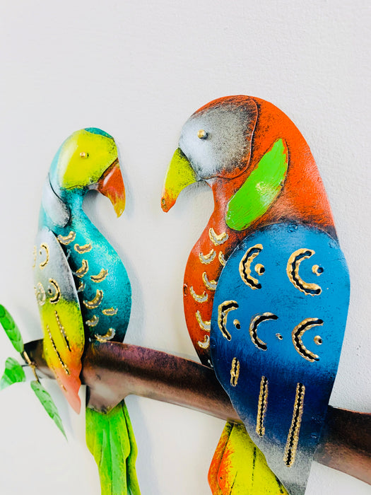 Tropical Love Parrots