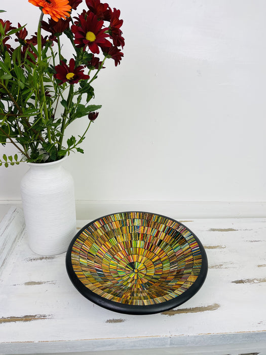Mosaic Bowl - City Lights