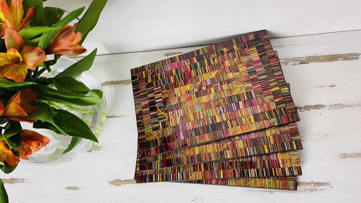 Mosaic Placemats - Electric