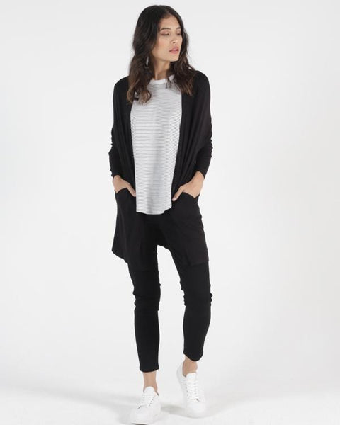 Como Cardigan - Black - et seq fashion