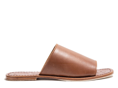 Off Duty Elevate Slides - Brown Vintage