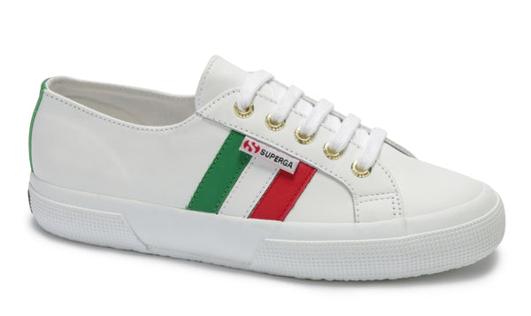 Classic - 2750-Leannappau Flagside- White Italian Flag - et seq fashion