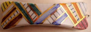 Hand painted barrette - SORRY THIS ITEM IS SOLD OUT - Accessories Of Old